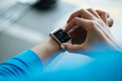 Reloj de pulsera inteligente