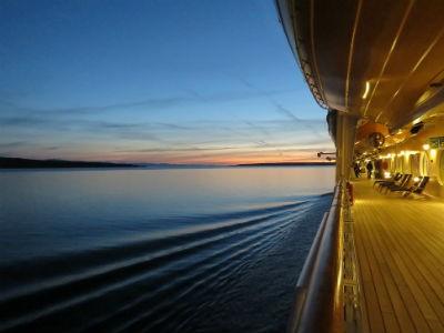 Viajar en un crucero