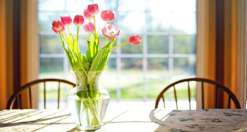 cuidar un ramo de flores