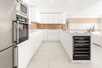 Vinoteca en la cocina